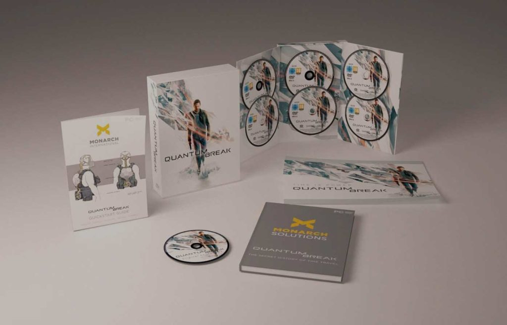 Quantum Break collectros edition