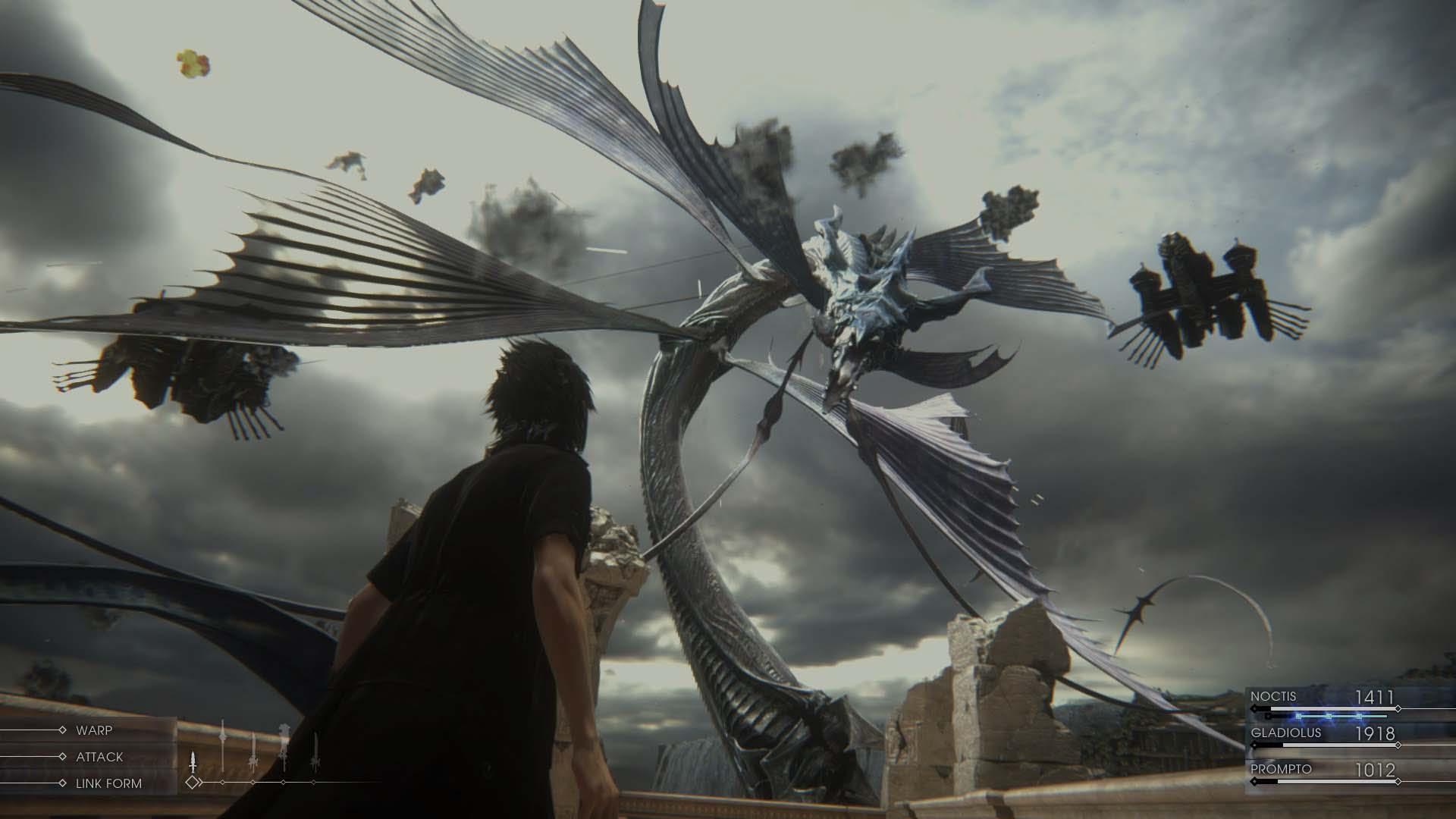 Final Fantasy 15 Leviathan