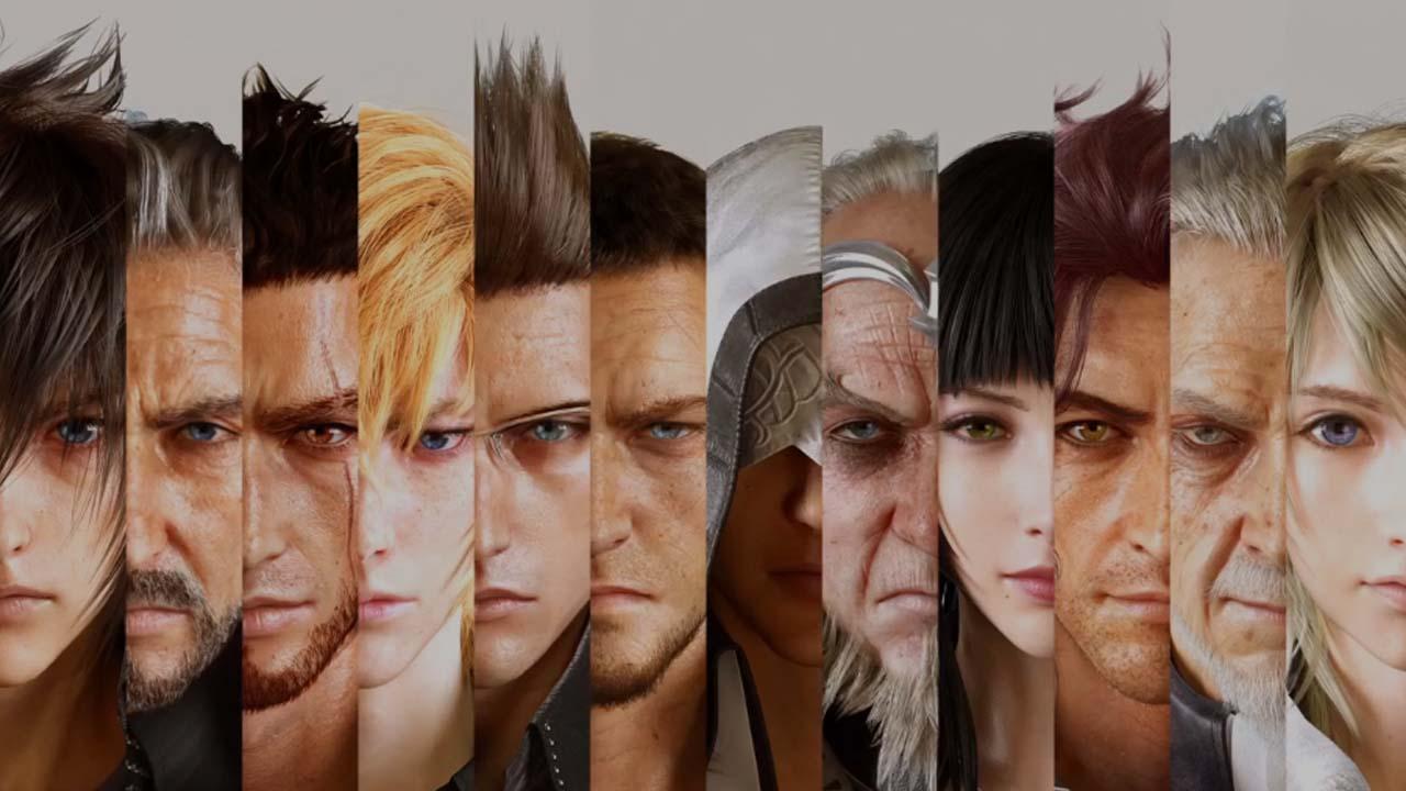 Final Fantasy 15 heroes